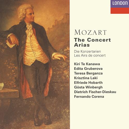 Mozart the Concert Arias Album Art