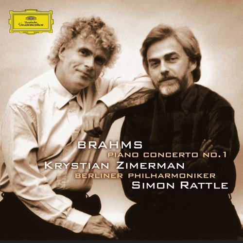 BRAHMS, J.: Piano Concerto No. 1 (Zimerman, Berlin Philharmonic, Rattle)