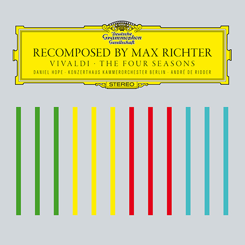 RICHTER, M.: Four Seasons (The) (after A. Vivaldi) (Hope, M. Richter, Berlin Konzerthaus Orchestra, Ridder)