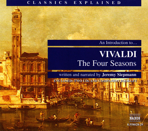 Vivaldi The Four Seasons Naxos Recording Cover Art