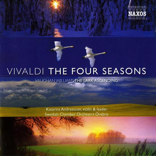 Vivaldi's The Four Seasons, the Swedish Chamber Orchestra album cover art