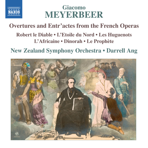 マイアベーア:フランス・オペラからの序曲と間奏曲集 ...