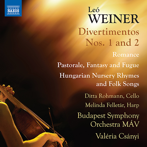 WEINER, L.: Orchestral Works (Complete), Vol. 3 - Divertimentos Nos. 1 and 2 (Rohmann, Felletár, Budapest Symphony Orchestra MÁV, Csányi)