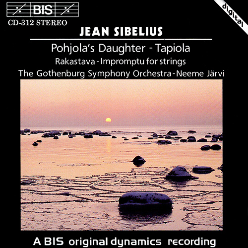 Sibelius – Tapiola (discographie & écoute comparée) BIS-CD-312