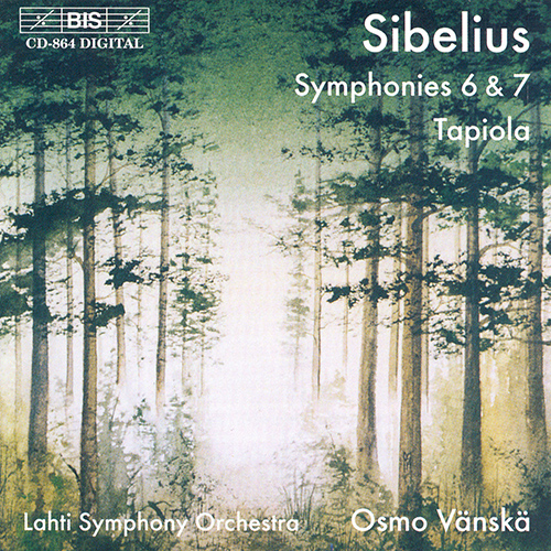 Sibelius – Tapiola (discographie & écoute comparée) BIS-CD-864